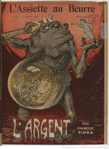 11th January 1902 issue of L'Assiette au Beurre drawn by François Kupka