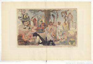 Adolphe Willette, [Collection Jaquet]. Dessinateurs et humoristes. Willette. 5 : [défets d'illustrations de périodiques] , published between 1900-1920, exact publication unknown, source: http://gallica.bnf.fr/ark:/12148/btv1b53099322z/f143.item.r=.
